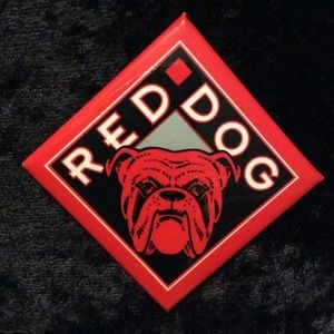 Red Dog button